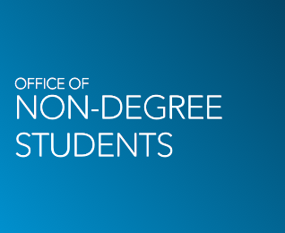 Brand Graphic - Office of Non-Degree Students
