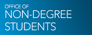 Brand logo for GW Office of Non-Degree Students